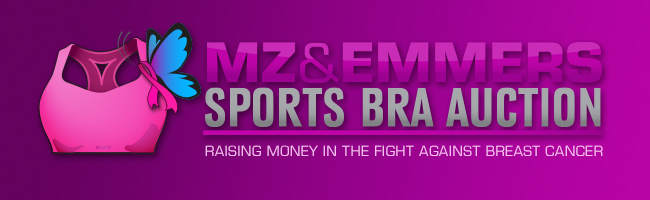 MZ & Emmers Sports Bra Auction