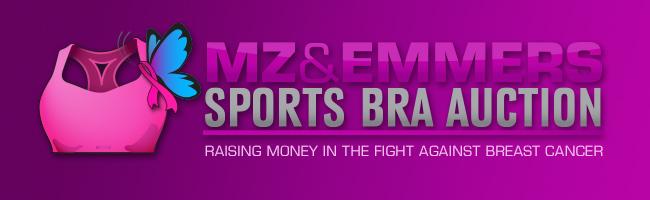 MZ & Emmers Sports Bra Auction