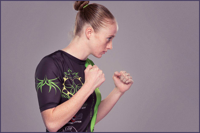 J.J. Aldrich. Photo Credit: Esther Lin for Invicta FC