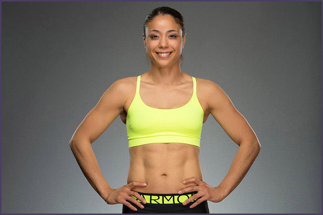 Miriam Nakamoto.  Photo Credit: Esther Lin for Invicta FC