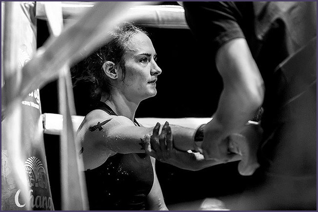 Sylvie von Duuglass-Ittu. Photo Credit: Michael White for Muay Thai Photography