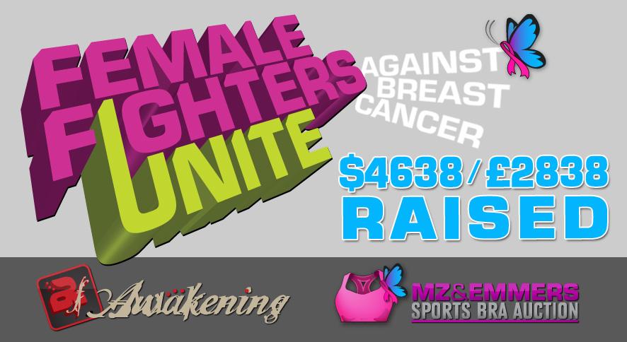 Female Fighters Unite - Total