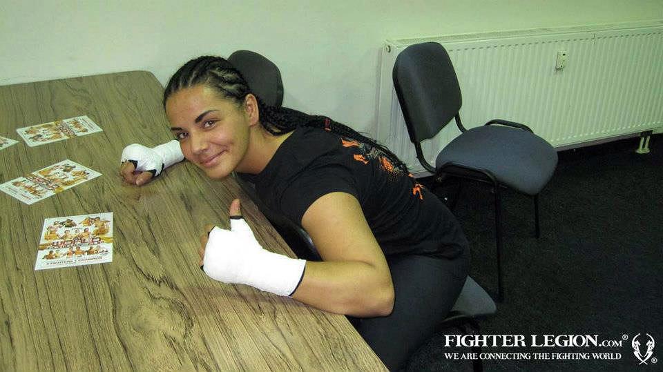 Hatice Ozyurt. Photo Credit: Fighter Legion