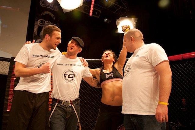 Rosi Sexton. Photo Credit: Cage Warriors Fighting Championship