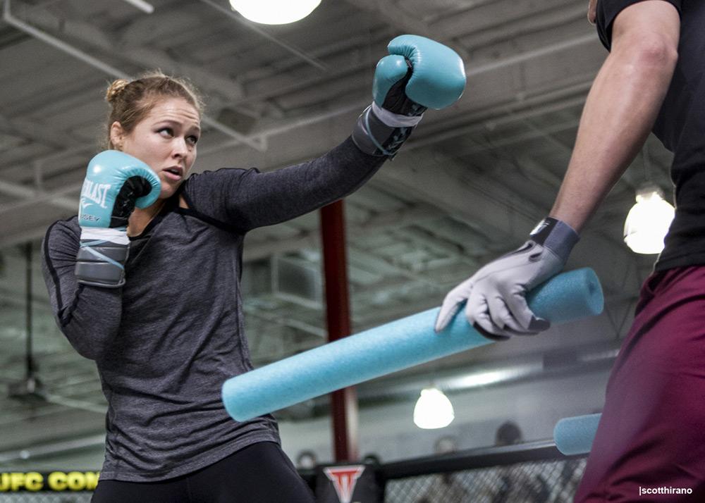 Ronda Rousey by Scott Hirano
