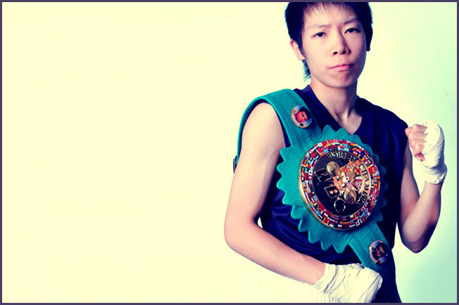 Momo Koseki. Photo Credit: wbcboxing.com