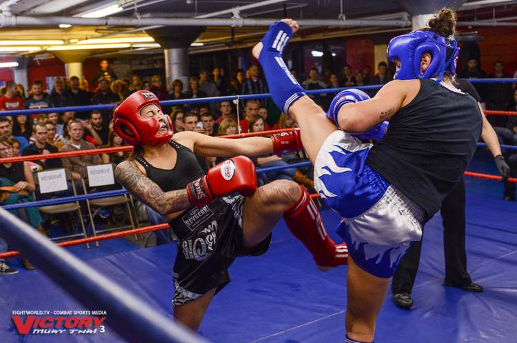 Eloise Picard Victory Muay Thai