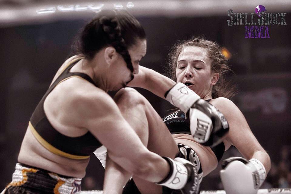 Maureen Riordon Knee by Shell Shock MMA