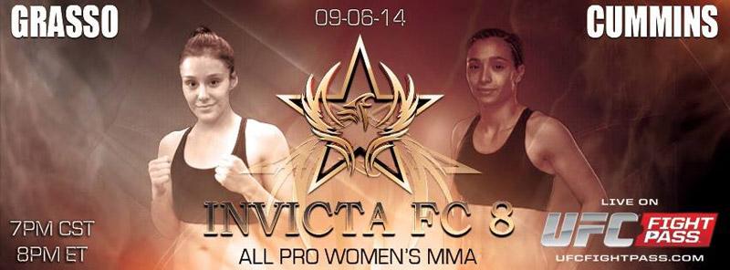 Alexa Grasso vs Ashley Cummins - Invicta FC8