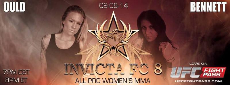 Michelle Ould vs Deanna Bennett - Invicta FC8