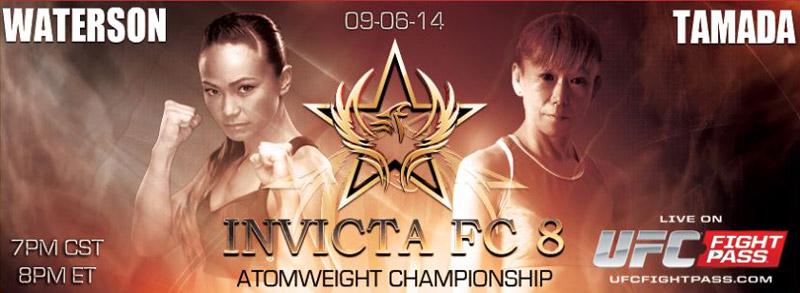 Michelle Waterson vs Yasuko-tamada - Invicta FC8