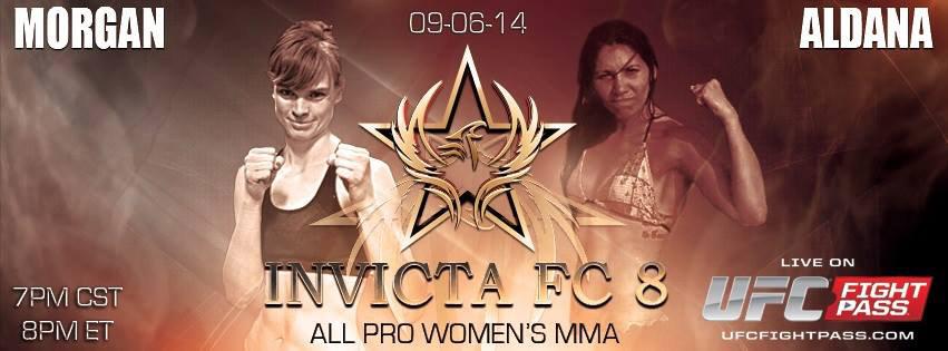 Peggy Morgan vs Irene Aldana - Invicta FC8
