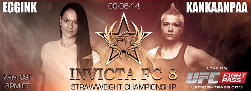 Stephanie Eggink vs Katja Kankaanpaa - Invicta FC8