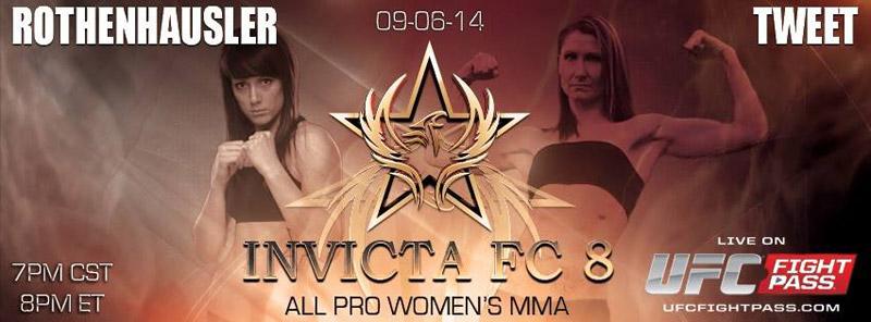 Veronica Rothenhausler vs Charmaine Tweet - Invicta FC8