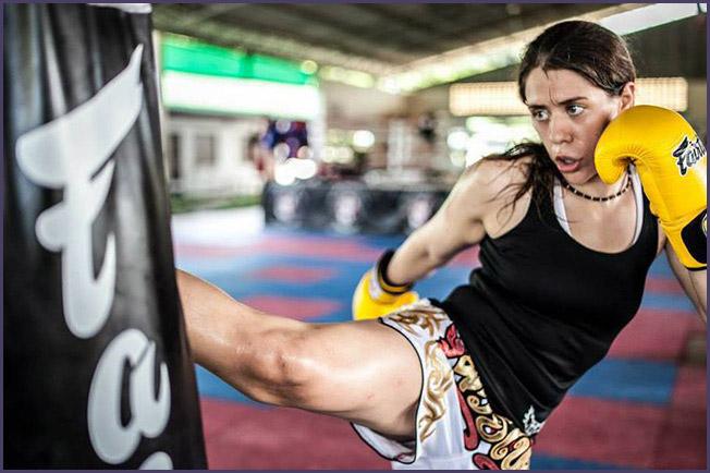 Serena DeJesus Muay Thai