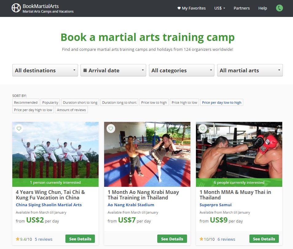 Bookmartialarts.com