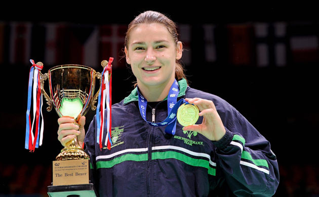 Katie Taylor photo by David Maher