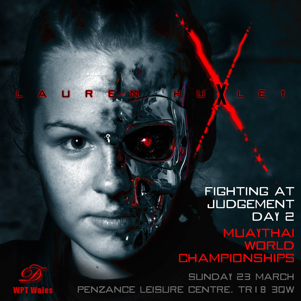 Lauren Huxley Terminator by davidforart