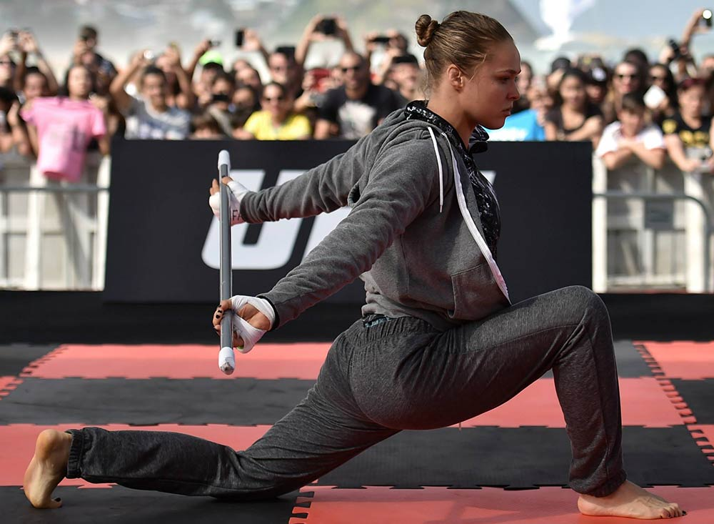 Ronda Rousey UFC 190 Fight Week by UFC Facebook