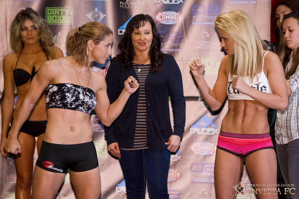 Tecia Torres vs Paige VanZant 05-01-13 Invicta FC4