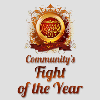 Community's Fight of the Year 2017