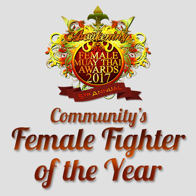 Community's Muay Thai Fighter of the Year 2017