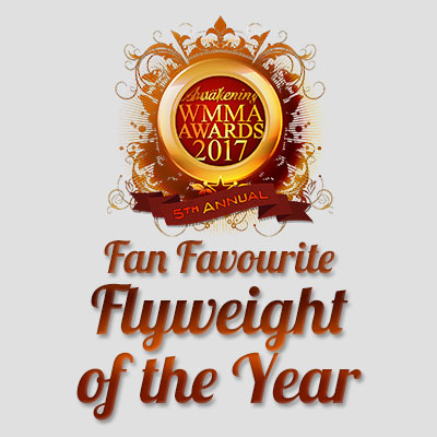 Fan Favourite Flyweight of the Year 2017