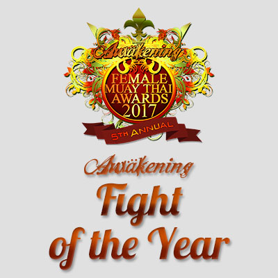 Muay Thai Fight of the Year 2017