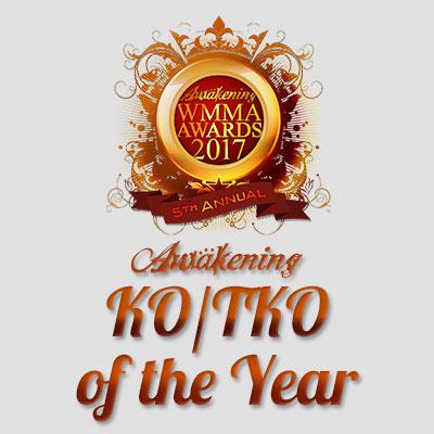 KO/TKO of the Year 2017