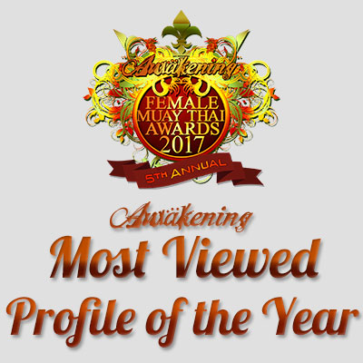 Most Viewed Muay Thai Profile of the Year 2017