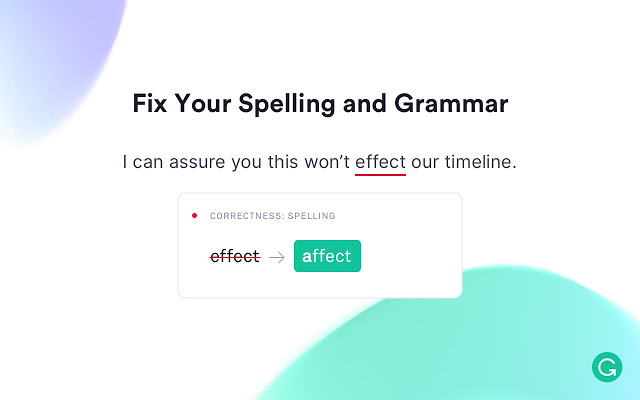 Grammarly checks