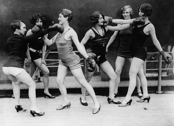 Womens Boxing 1920s